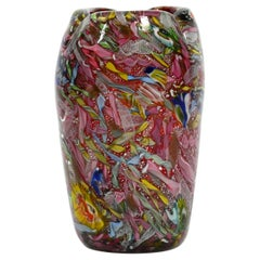 """Murano Vase """"Rest of the Day"""" by Dino Martens for Aureliano Toso from 1955"""