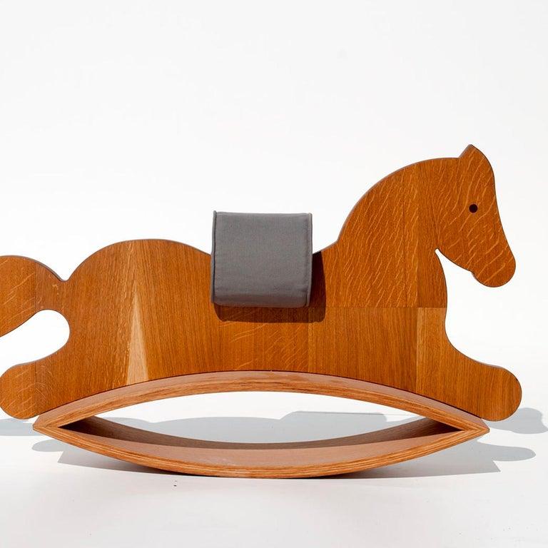 Murgese rocking horse.