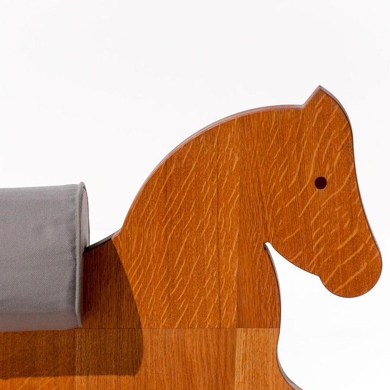Italian Murgese Rocking Horse by Apulia Design For Sale