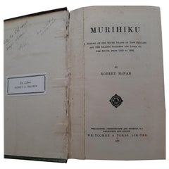 Murihiku: a History of the South Island of New Zealand by McNab (1909)