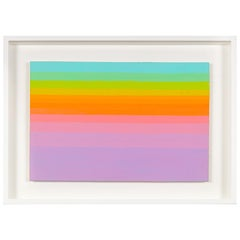 Murray Hantman Abstract Color Composition Painting, USA, 1970s