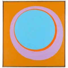 "Murray Hantman Abstract Painting ""Andole"", USA, 1963"