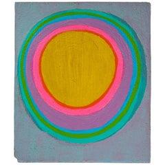 Murray Hantman Abstract Painting on Board, USA 1960s