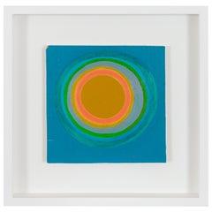 Murray Hantman Abstract Painting on Board, USA, 1960s