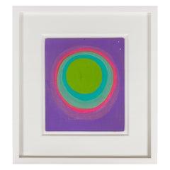 Murray Hantman Abstract Painting, USA 1960s