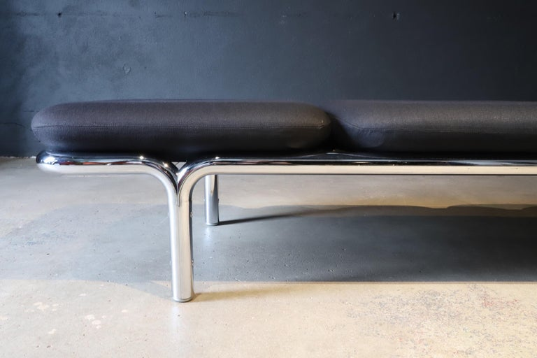Upholstery Museum Bench by Brian Kane for Metropolitan Furniture For Sale