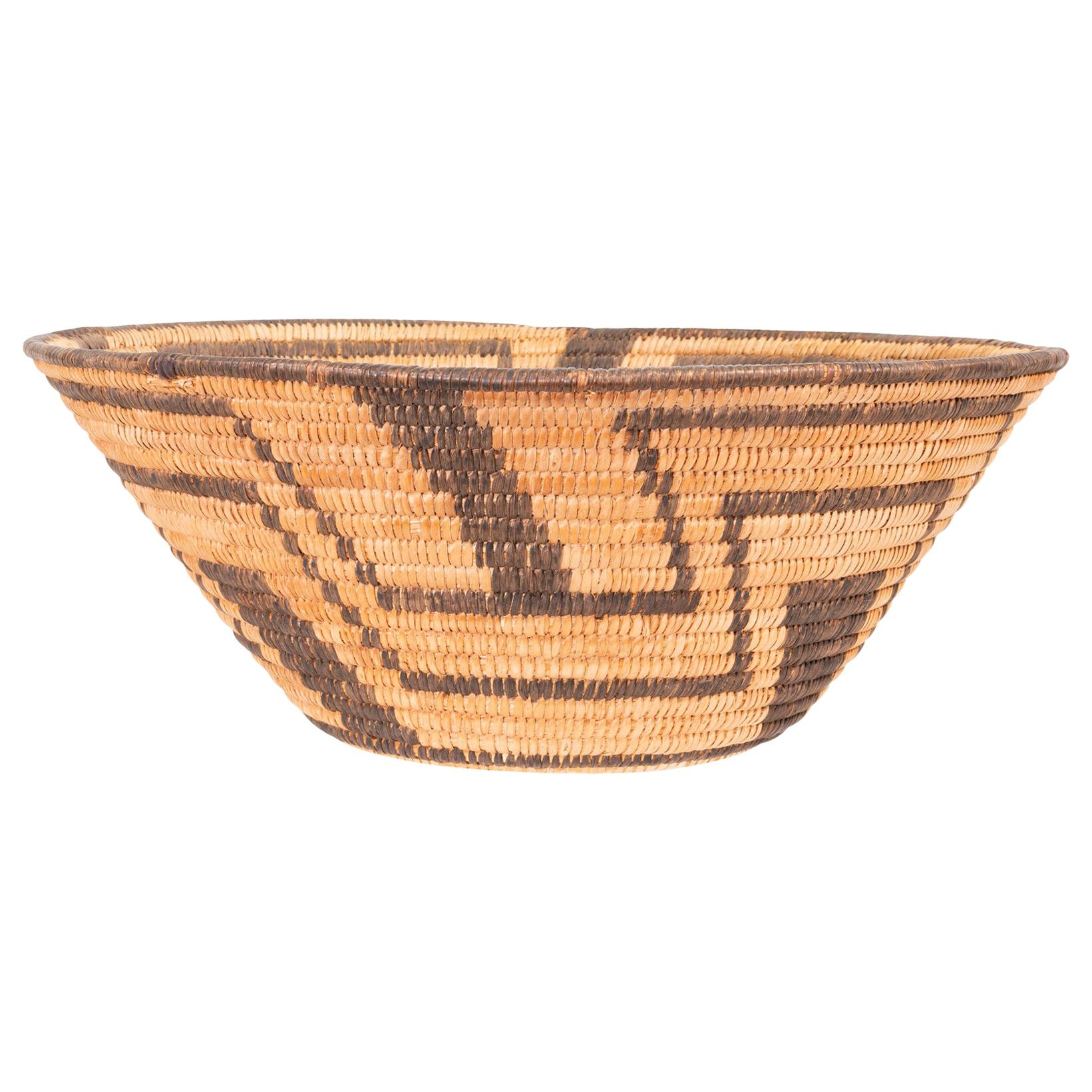 Museum Documented Pima Basket