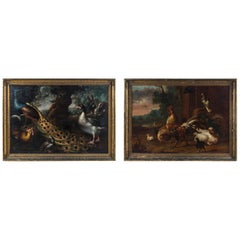 Museum-Quality Antique Pair Old Master Paintings