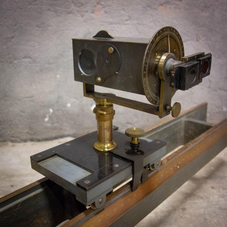 Museum Quality Measuring Instrument, PH & F. Pellin, Paris, circa 1900 For Sale 8
