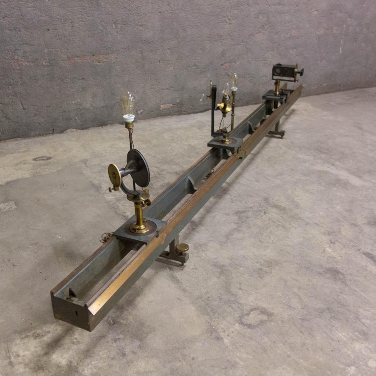 Museum Quality Measuring Instrument, PH & F. Pellin, Paris, circa 1900 In Good Condition For Sale In Nijmegen, Gelderland