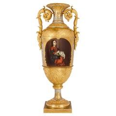 Museum-Quality Porcelain Vase by Imperial Porcelain Factory