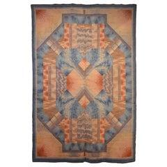 Museum Quality Wiener Werkstatte Wool Rug by Philipp Haas & Sohne, 1910s