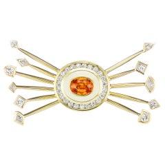 Museum Series Satellite Necklace with Diamonds