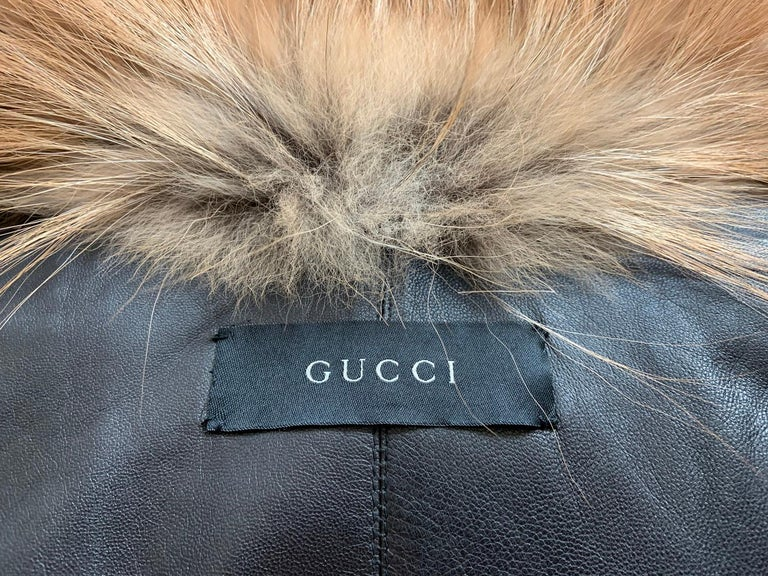 Museum Tom Ford for Gucci Runway F/W 1999 2 in 1 Fur Coat Jacket  For Sale 14