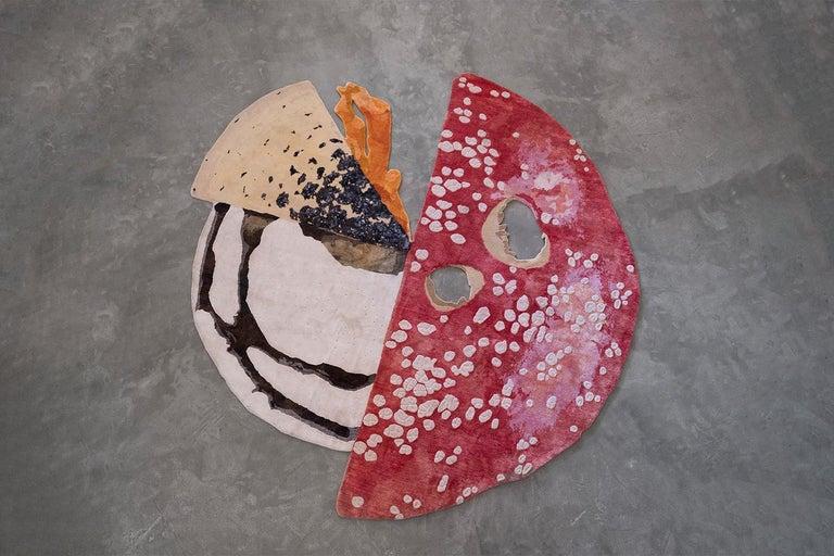 Modern Mushroom Carpet by Carsten Höller For Sale