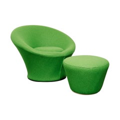 Mushroom Chair and Stool by Pierre Paulin for Artifort