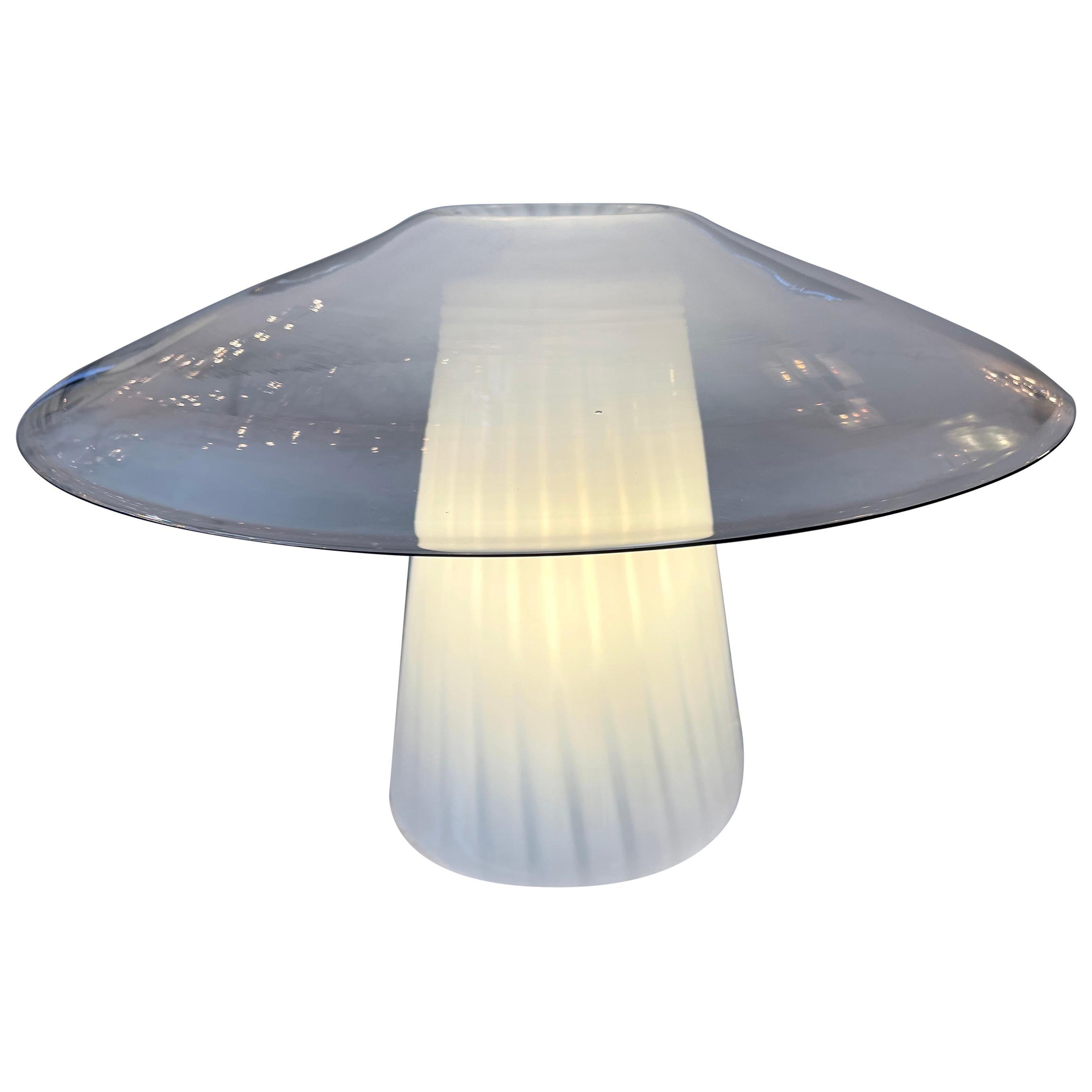 Mushroom Murano Glass Lamp, Italy, 1970s