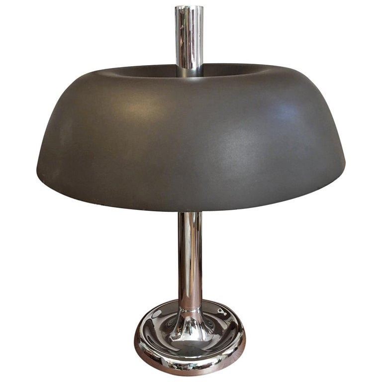 Mushroom Table Lamp by Egon Hillebrand, Germany For Sale