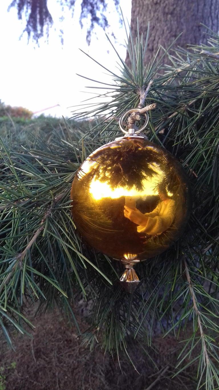 Musical Christmas Ball Christmas Tree Christmas Ornament Music Box Silent Night 6