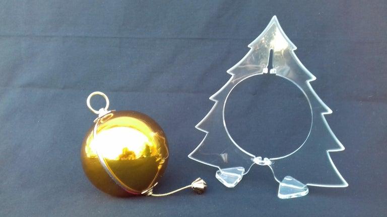 Musical Christmas Ball Christmas Tree Christmas Ornament Music Box Silent Night 4