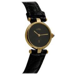 Must de Cartier Argent Vermeil Ladies Watch