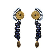 Musula Afrikania Tuareg Earrings w/silver closure