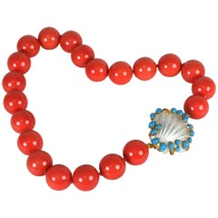 MWLC Coral Palm Beach Beads