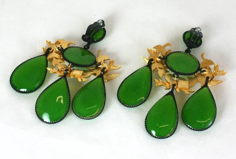 MWLC Girandole Garland Earrings In New Condition For Sale In Riverdale, NY