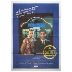 """My Beautiful Laundrette"" 1985 Italian Due Fogli Film Poster"