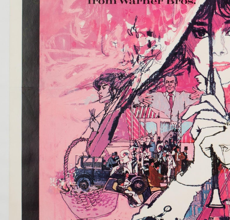 'My Fair Lady' 1964 US 1 Sheet Film Poster, Peak In Good Condition For Sale In Bath, Somerset