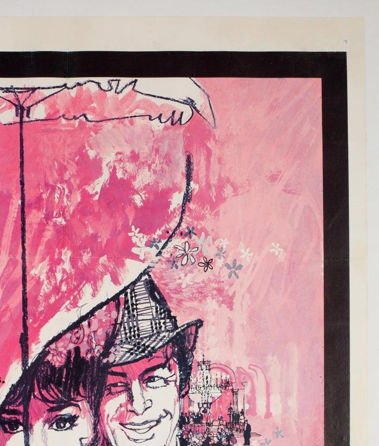 'My Fair Lady' 1964 US 1 Sheet Film Poster, Peak For Sale 1