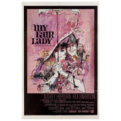 My Fair Lady 1964 U.S. One Sheet Film Poster