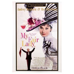 """My Fair Lady"" R1994 U.S. One Sheet Film Poster"