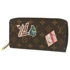 My LV World Tour  Zippy  Wallet  long wallet Leather