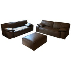 My World Designed by Philippe Starck for Cassina in 2003 Two Sofas and Ottoman