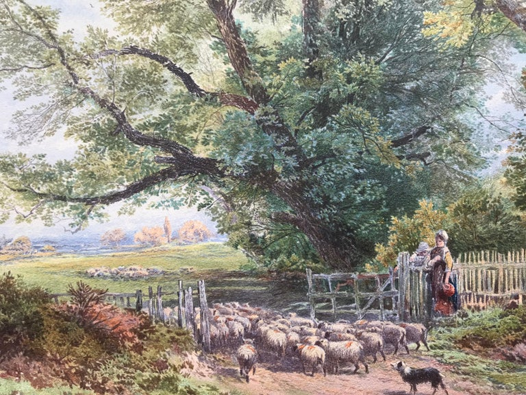 """""""Tending the Sheep"""" For Sale 1"""