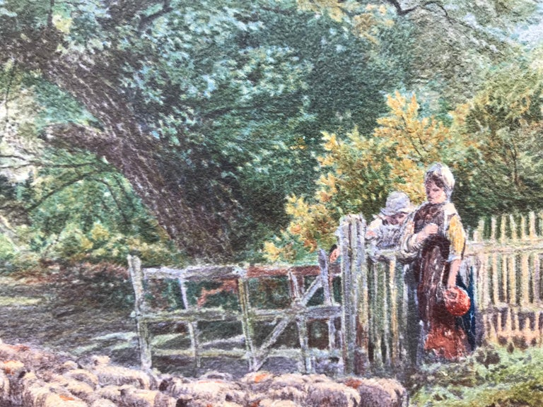 """""""Tending the Sheep"""" For Sale 3"""
