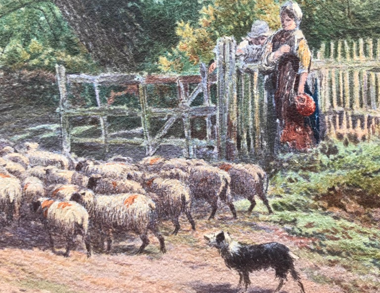 """""""Tending the Sheep"""" For Sale 5"""