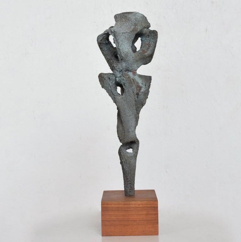 Mid-20th Century Myrna M Nobile Abstract Bronze Sculpture #5 Mid-Century Modern For Sale