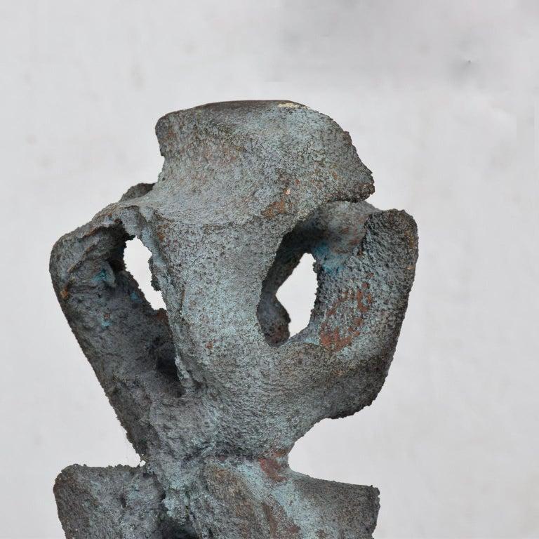 Myrna M Nobile Abstract Bronze Sculpture #5 Mid-Century Modern For Sale 1