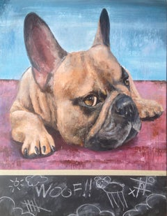 WOOF /  (French Bulldog)