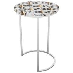 Myrtle Table, Half Moon
