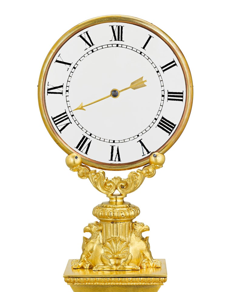 Other Mystery Clock by Robert Houdin For Sale