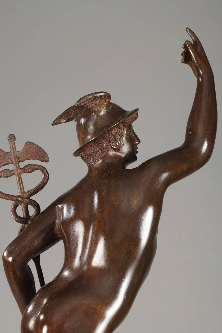 Mythological Bronze Mercury after Giambologna 1