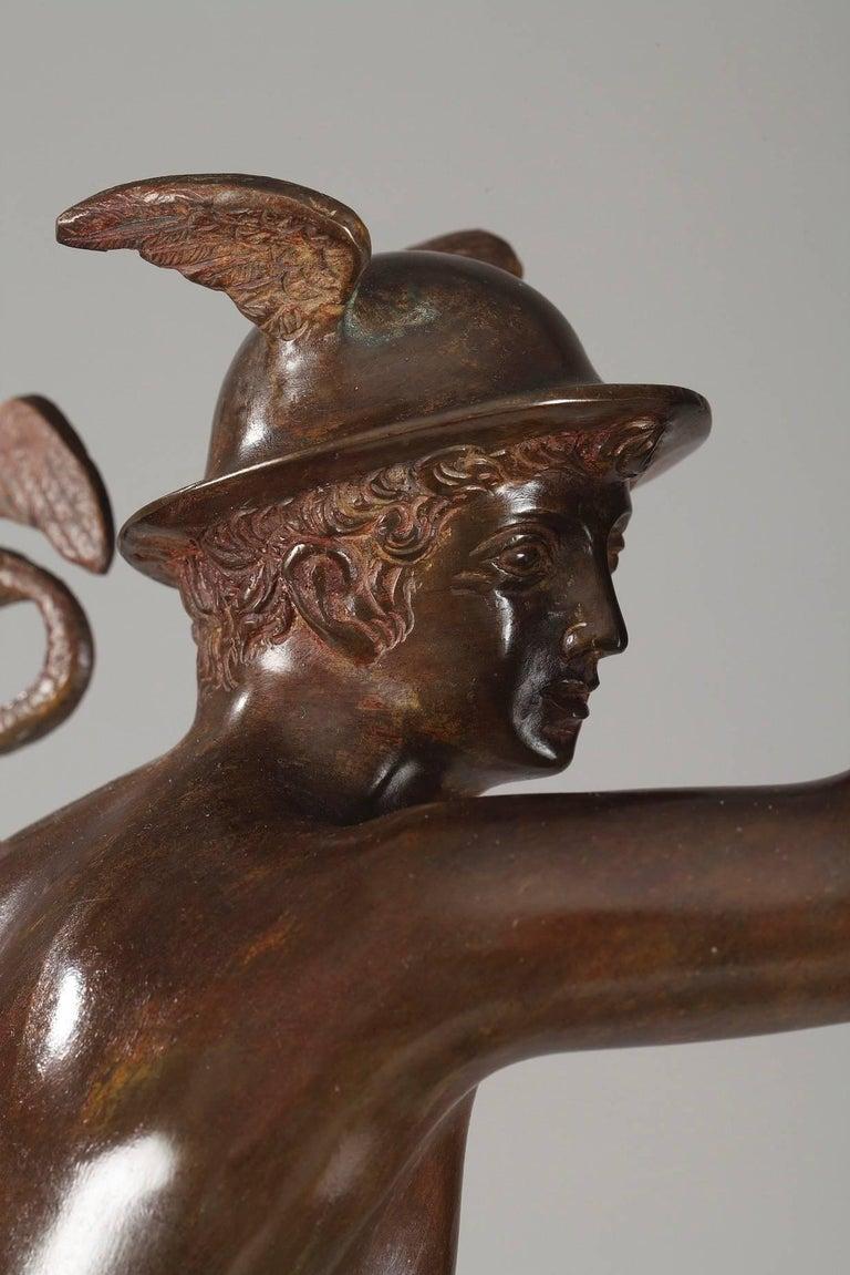 Mythological Bronze Mercury after Giambologna 2