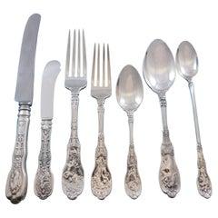 Mythologique by Gorham Sterling Silver Flatware Set for 8 Service 90 pcs Dinner