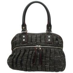 MZ Wallace Black & White Tweed Handbag