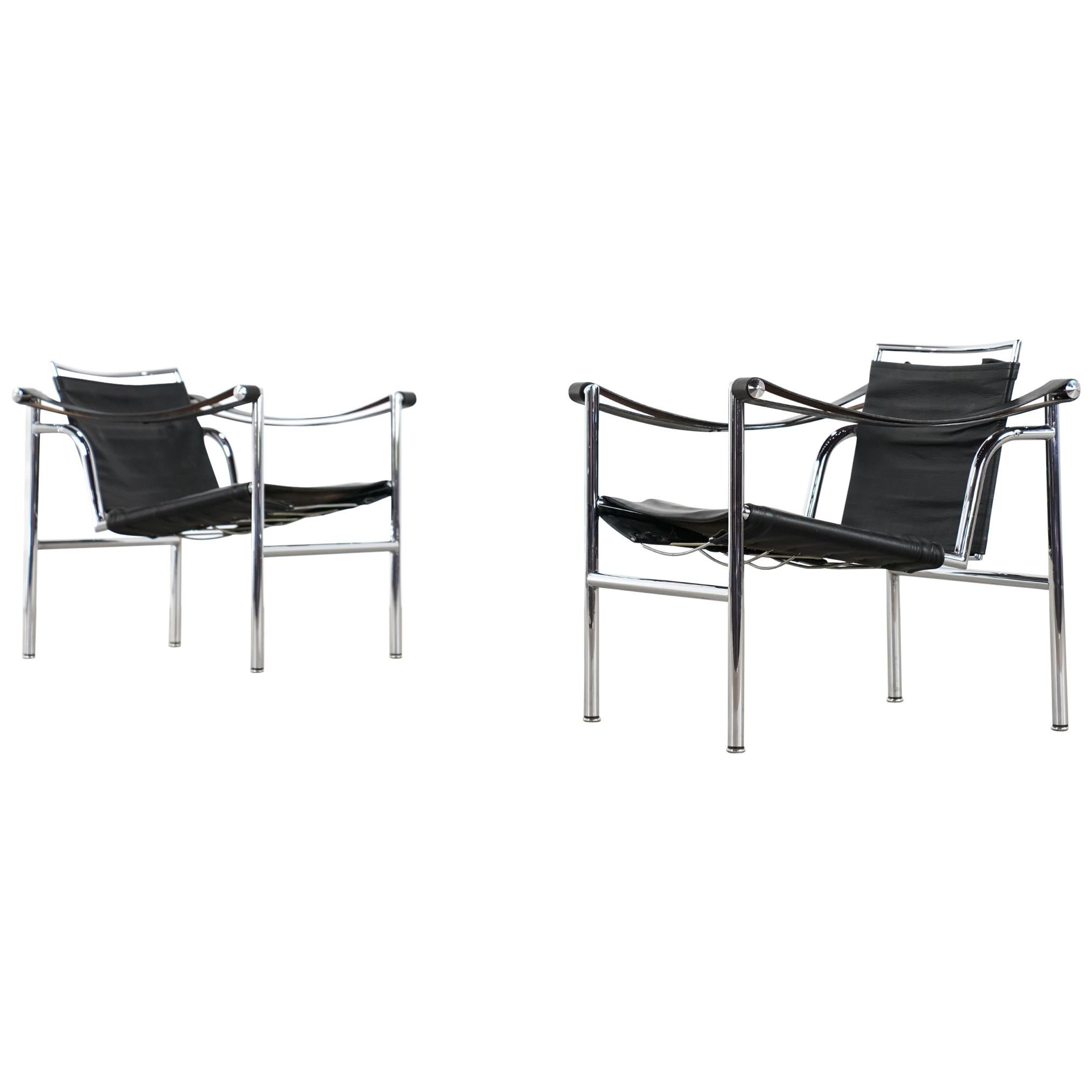 Ordinaire N° 175 / 176 Early / 2x Le Corbusier, P. Jeanneret U0026 Ch. Perriand LC1 Chair