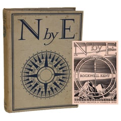 N by E by Rockwell Kent, First Edition 1930