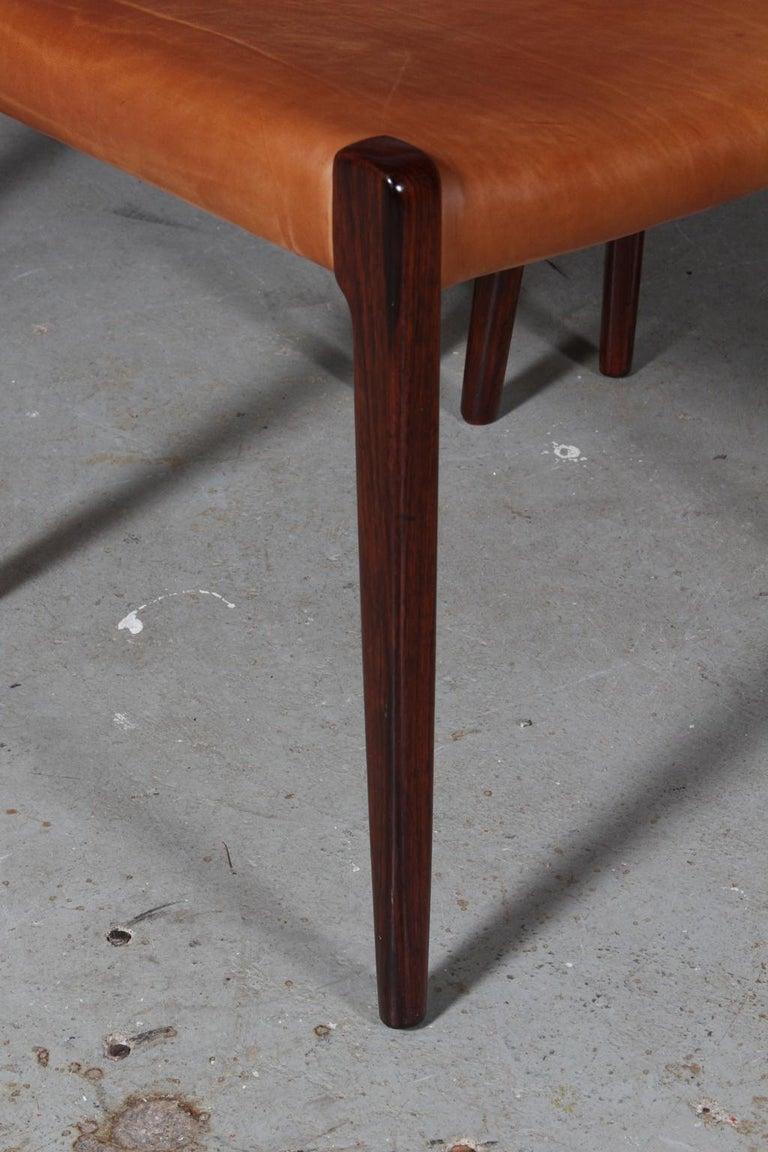 Danish N. O. Møller Set of Six Dining Chairs